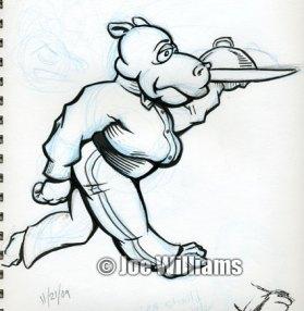 Hippo Waiter