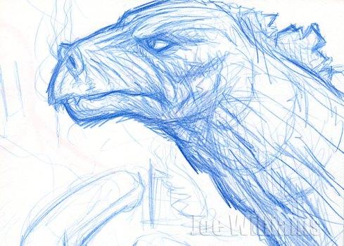 gojira-sketch