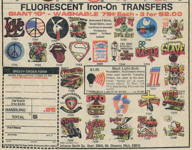 Fluorescent-Iron-on-Transfers
