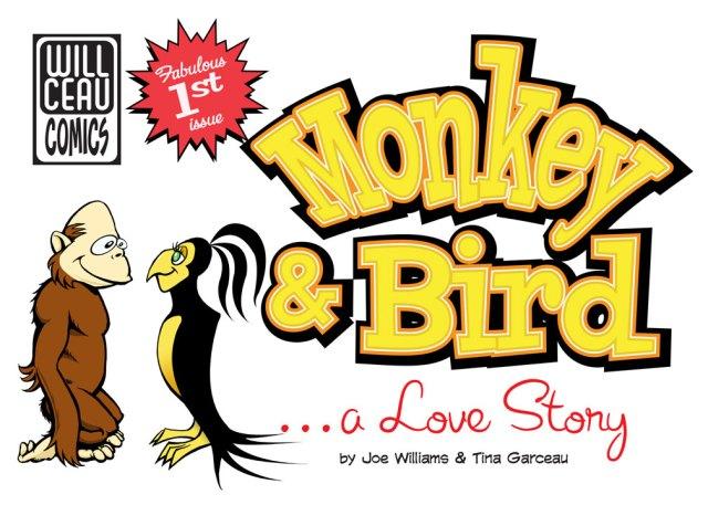 Monkey & Bird Web Comic