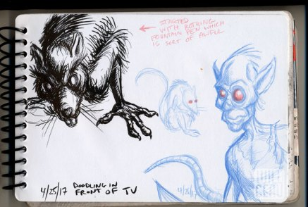 Rat-sketch