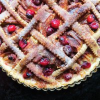 Apple Cranberry Tart