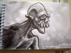 A toothy, mutant freak