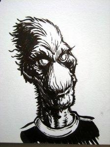 Fuzzy alien/Grinch's Cousin Earl