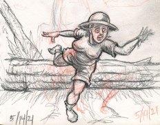 Nora flees
