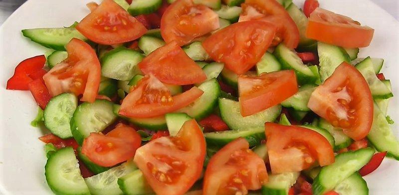 Zöldségdarabok