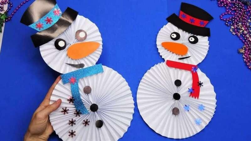 снеговики с головой и телом