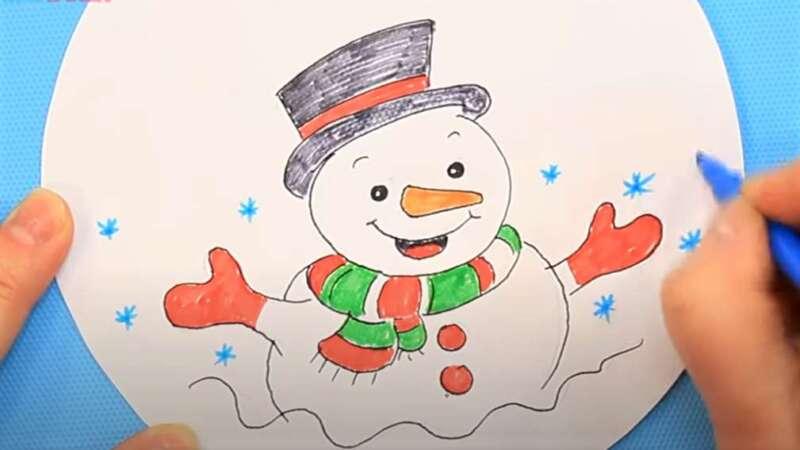 Người tuyết màu