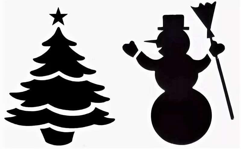 Жаңа жылға арналған снеговик жаңа жылдық шыршамен