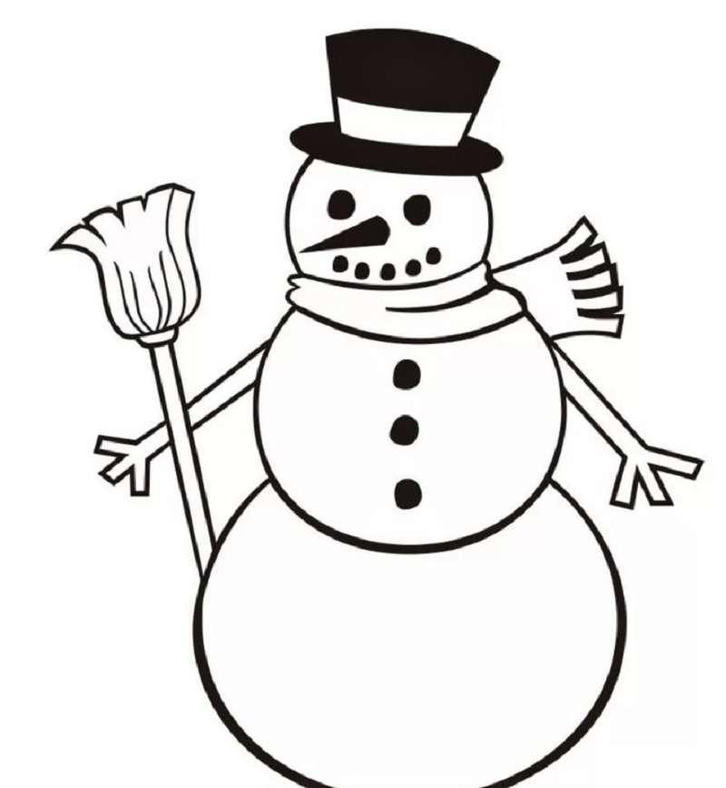 Người tuyết mỉm cười