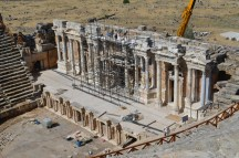 Amphitheatre stage at Heriapolis