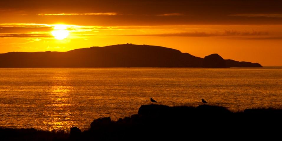 Sun sets of Faraid Head
