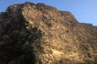 The Cliff Close Up