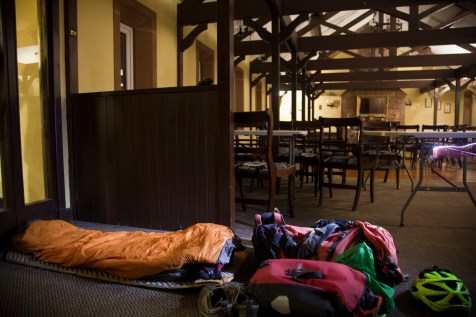 Bed in the pub