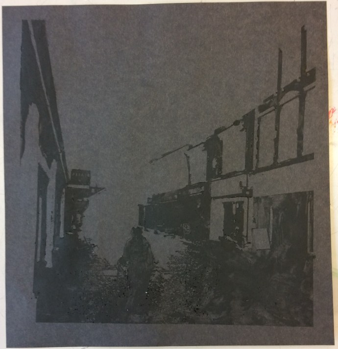 Town centre print 1