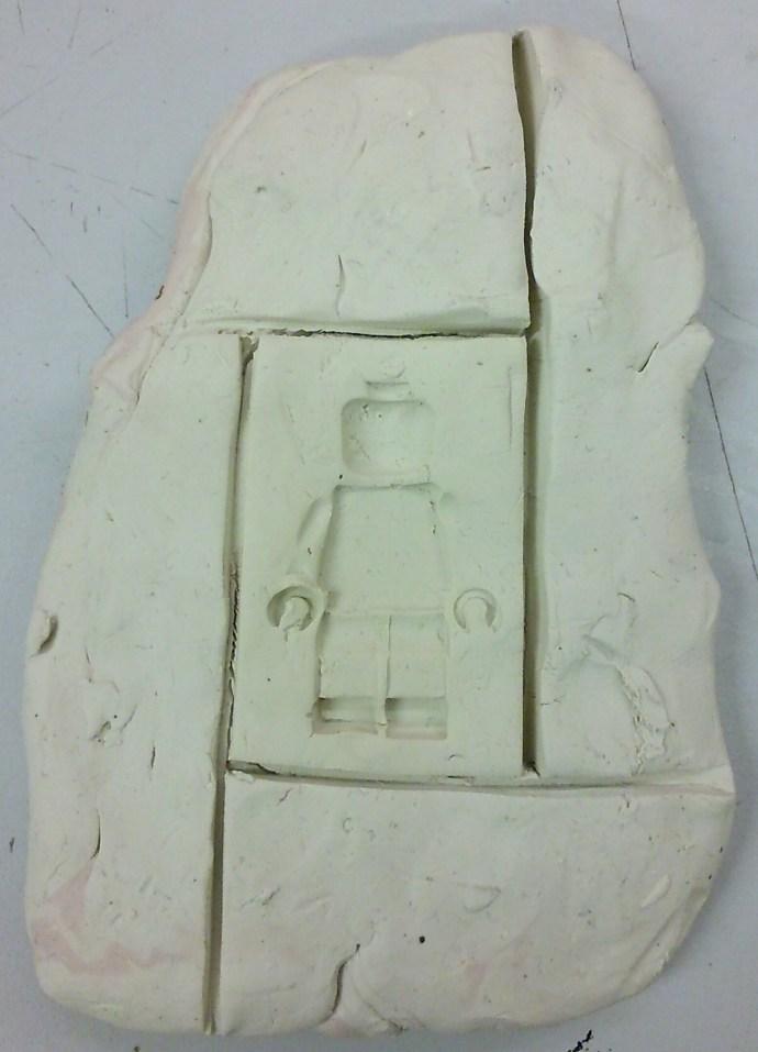Lego man mold