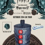 In Flames Oreo tour poster