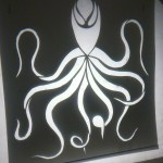 Octopus stencil projection