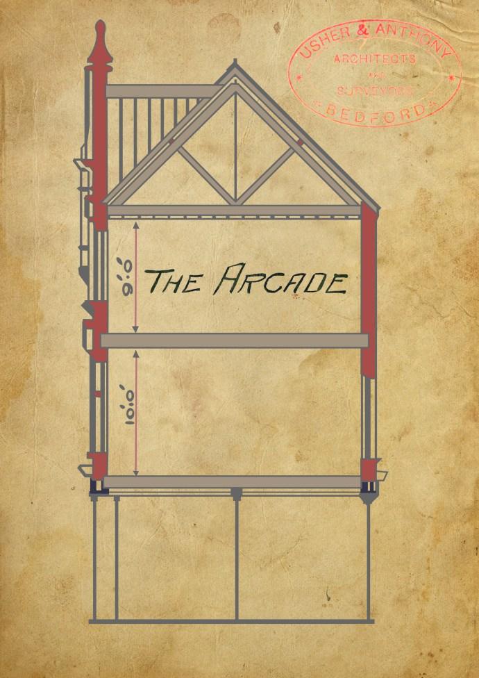 Old arcade design 1