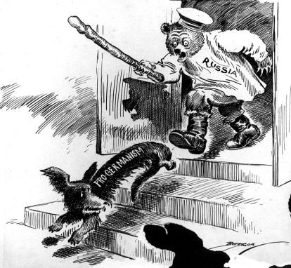 Political Cartoon: March 16, 1917