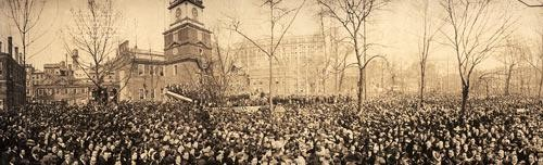 March 31, 1917 — The most wonderful patriotic meeting ever held.