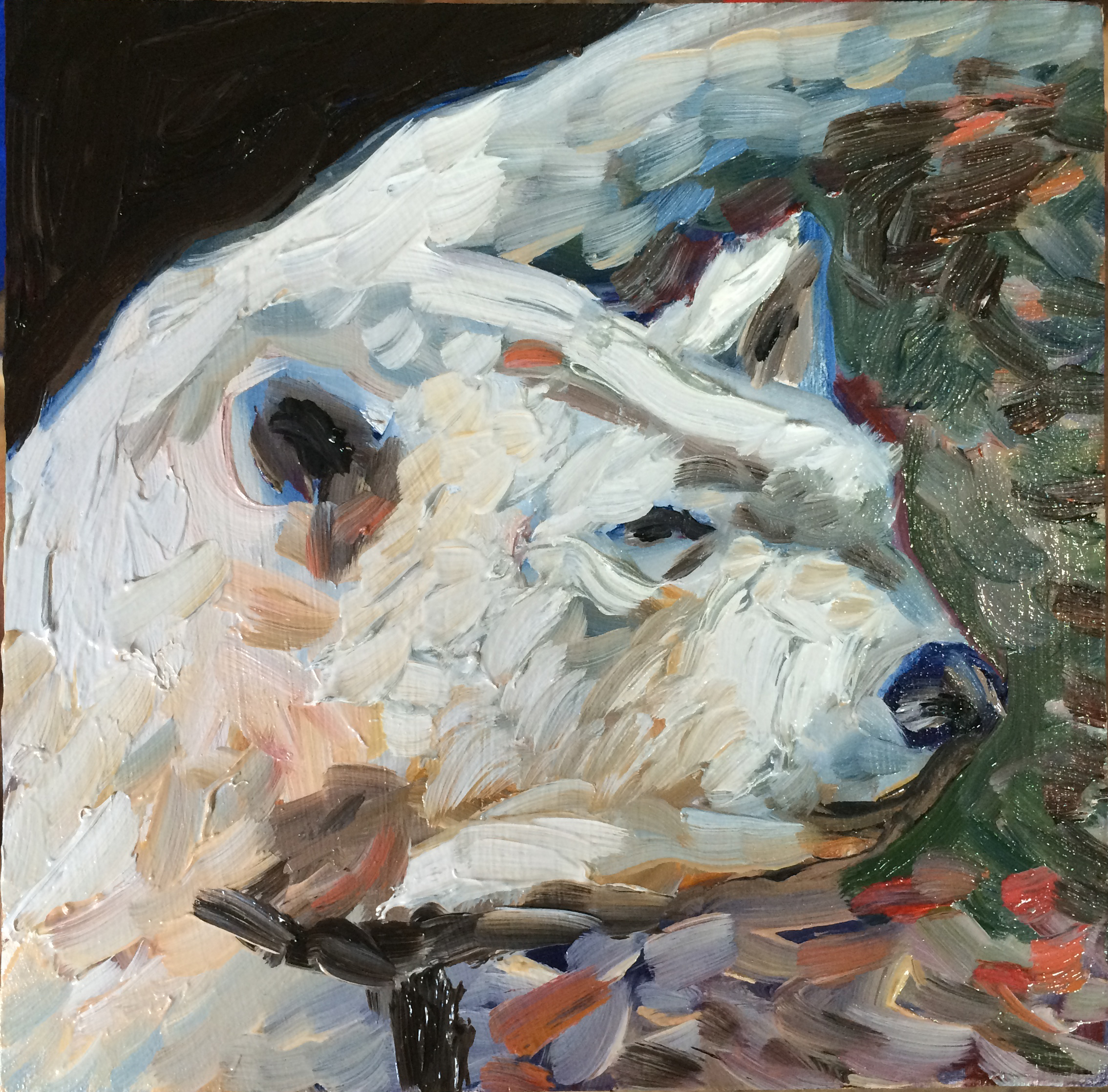 Springtime For Polar Bear Animal Art Painting Will Eskridge