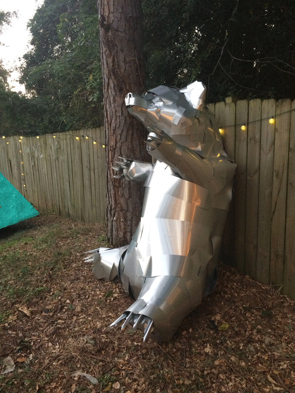 Bear Camp animal art installation Will Eskridge