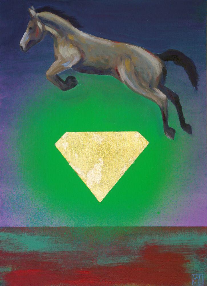 High Living Surreal Animal Art Painting Will Eskridge