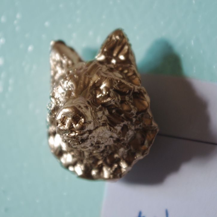 Wolf Magnet Animal Artist Art Will Eskridge