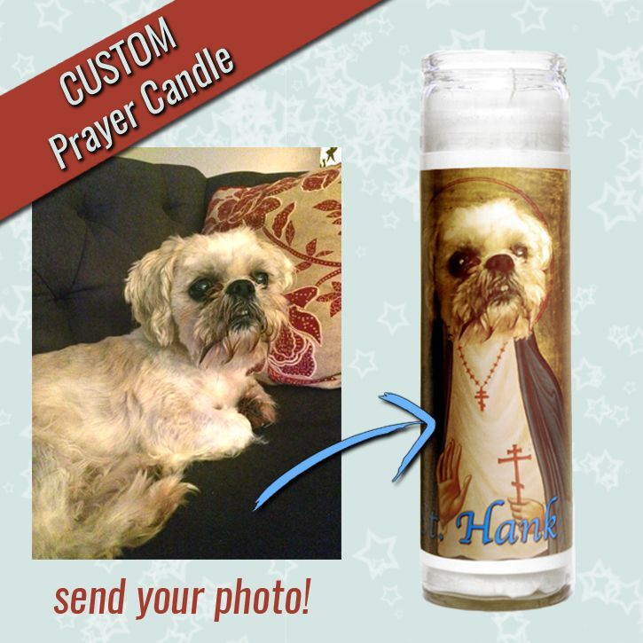 Custom Animal Spirit Prayer Candle