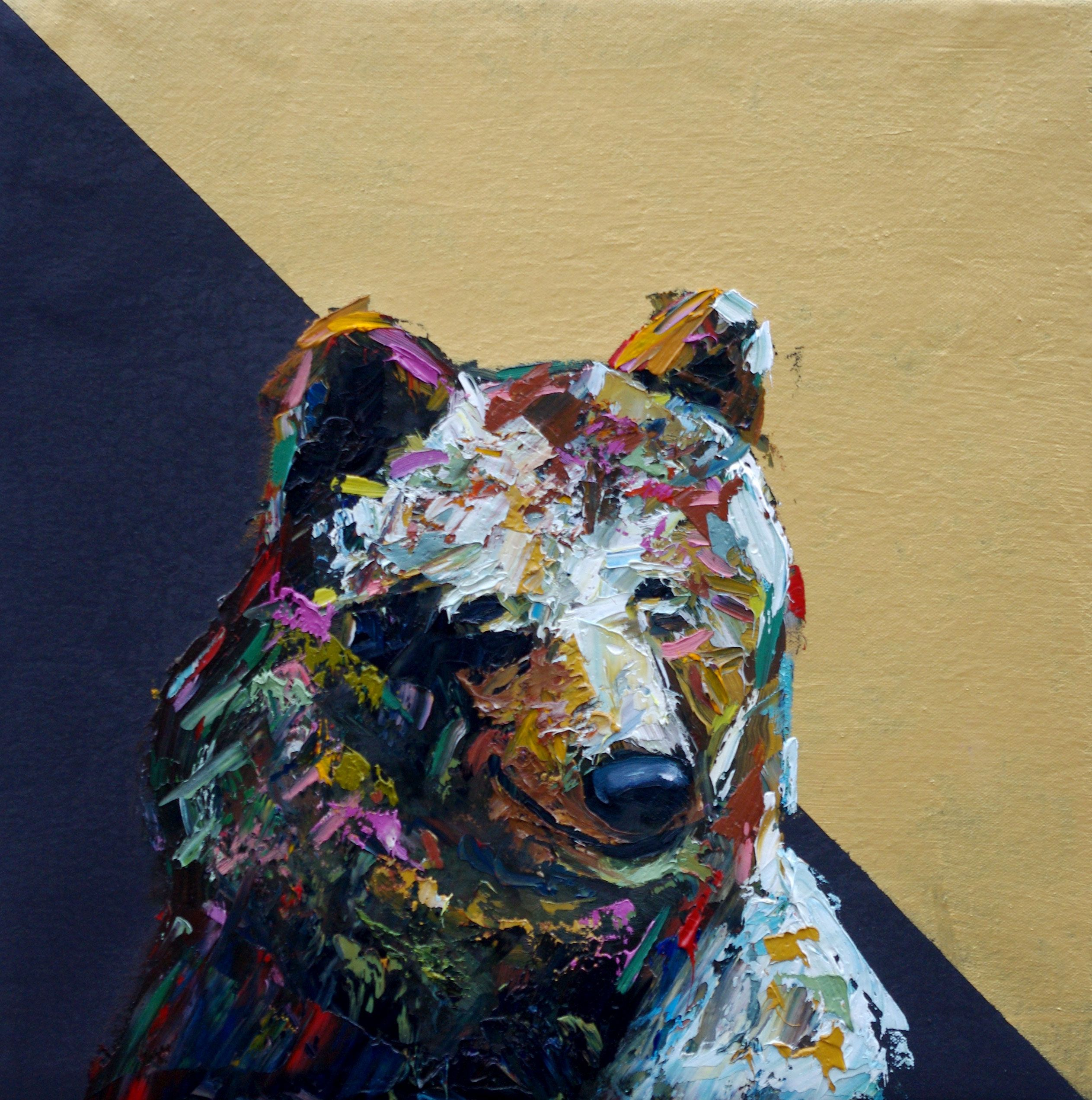 And When Will We Be Free? Animal Artist Art Bear Painting Wildlife Will Eskridge