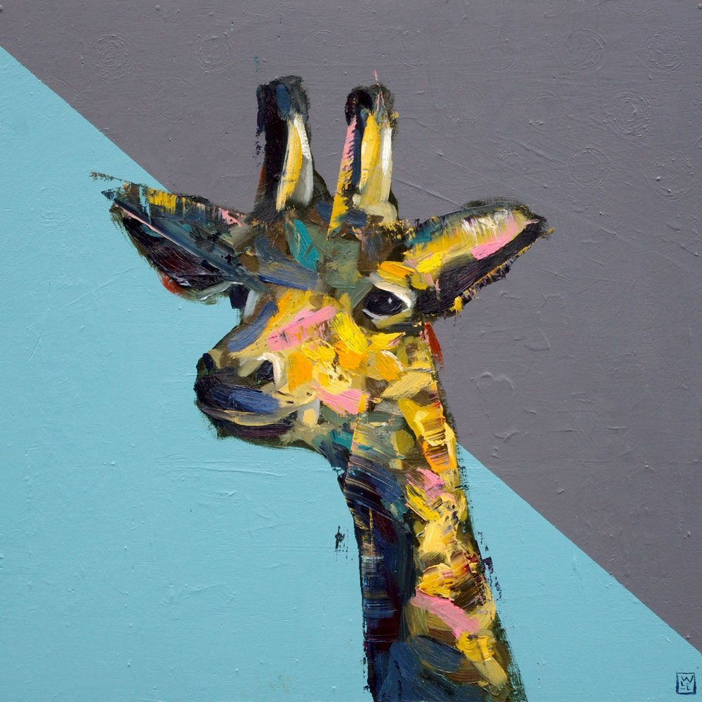 Just Out Of Reach – Giraffe Art Print