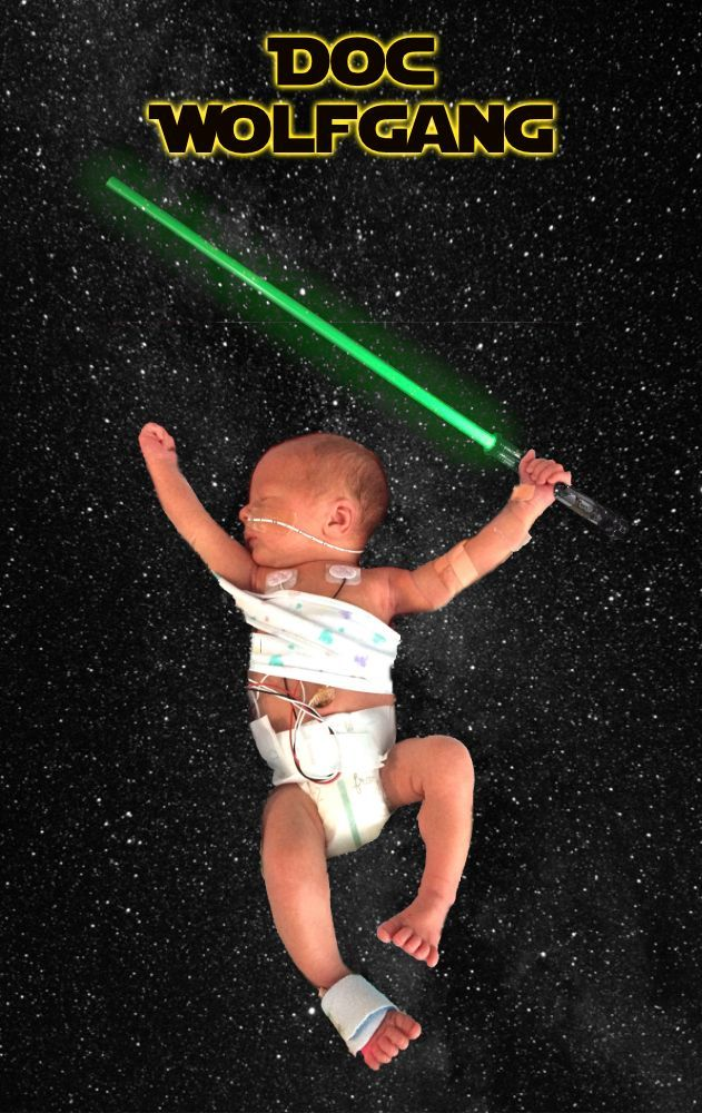 The Force Is Strong With This One…