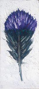 Violet-Sabrewing-Hummingbird-Parrot-Feather-animal-artist-art-painting-wildlife-Will-Eskridge-web