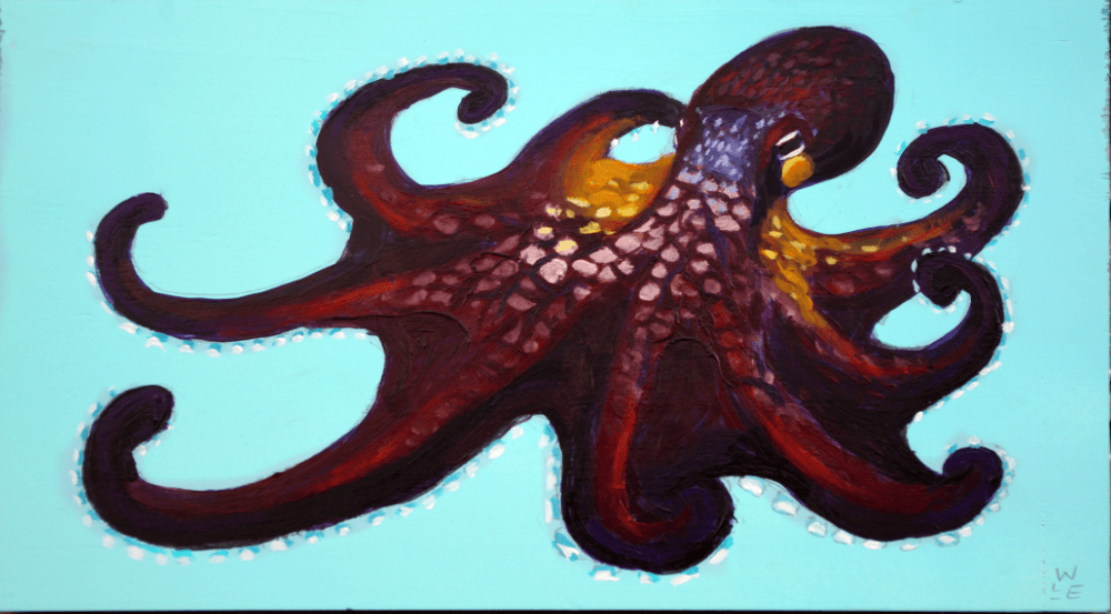 Coconut Octopus – Day 22