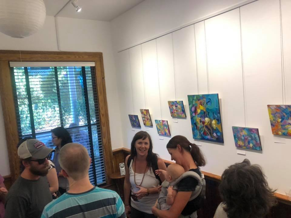 Central Nervous Breakdown animal art opening reception Will Eskridge
