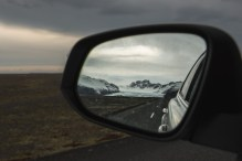 Leaving Skaftafell