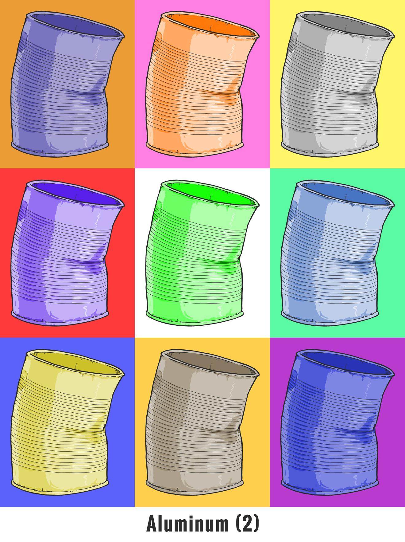 Warhol Aluminum (2)