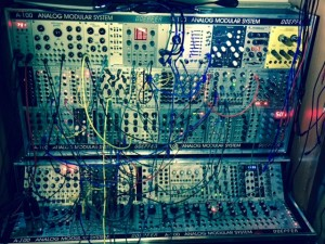 The Modular at rest.