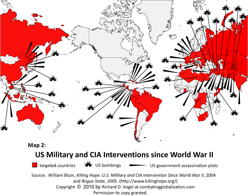 Interventions Map