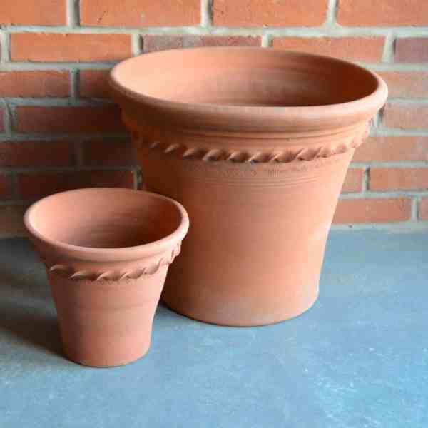 pastry flowerpots