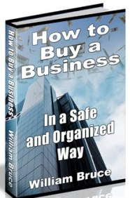 Booklet explaining how to buy a business in a safe and organized way.