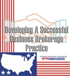 Become a business broker; business broker training