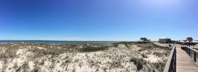 "Public, ""developed"" beach. St. George Island State Park."