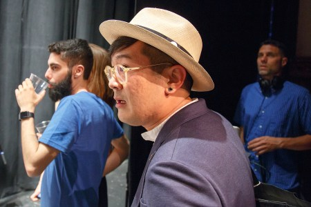 James Hsu at WMC Fest 6 during Ink Wars