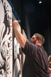 Mike Jones at WMC Fest 6 competing in Ink Wars