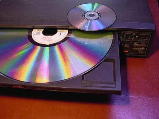 10.Laserdisc