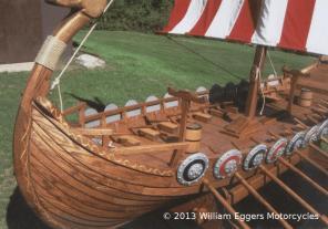 Bill Eggers: Gokstad Viking Ship Closeup