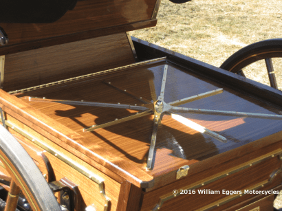 photo of Covered engine of 1894 Duryea