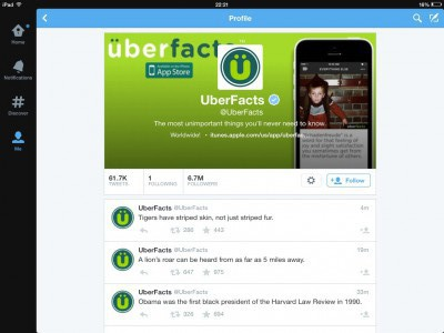 Myth-trusters: why do we believe @uberfacts?